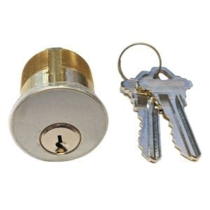 Cylinders for Commmercial Door Locks and Exit Device Trim