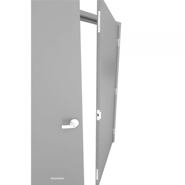 Commercial Steel Double Doors Hollow Metal Door Pair